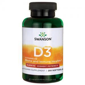 Swanson High Potency Vitamin D3